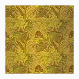 Jungle Dream 1 Wandverkleidung mit Stoffbezug von Chiara Mennini für Midsummer-Milano