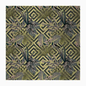 Jungle Dream 2 Fabric Wall Covering by Chiara Mennini for Midsummer-Milano