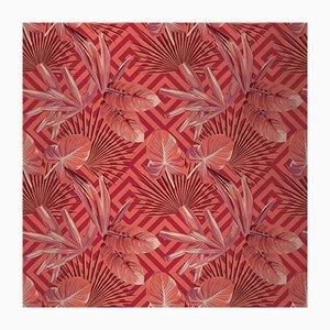 Jungle Dream 3 Wandverkleidung mit Stoffbezug von Chiara Mennini für Midsummer-Milano