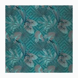 Jungle Dream 4 Wandverkleidung mit Stoffbezug von Chiara Mennini für Midsummer-Milano