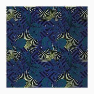 Jungle Dream 5 Wandverkleidung mit Stoffbezug von Chiara Mennini für Midsummer-Milano