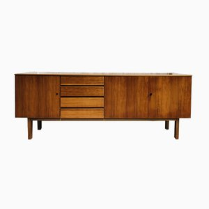 Mid-Century Danish Walnut Sideboard, 1960s