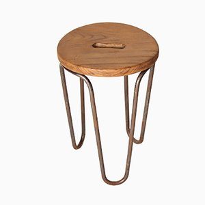 Vintage Stool by Cesar Janello for AA Raoul Guys, 1940s