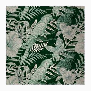 Parrots 4 Wandverkleidung mit Stoffbezug von Chiara Mennini für Midsummer-Milano