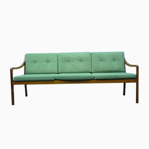 Mid-Century Cherry Bench, 1960s