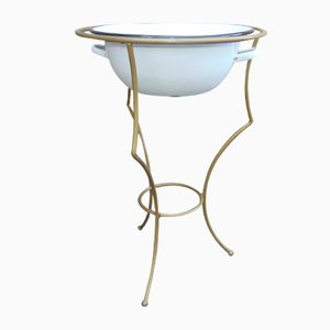 Decorative Stand with Bowl or Planter, 1950s