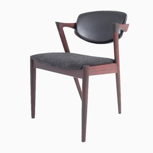 Vintage Model 42 Armchair by Kai Kristiansen for Schou Andersen, 1960s