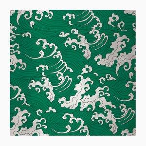 Wave 4 Wandverkleidung mit Stoffbezug von Chiara Mennini für Midsummer-Milano