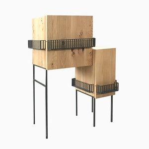 Mueble Ringhiera de roble de Domenico Orefice para Man de Milan