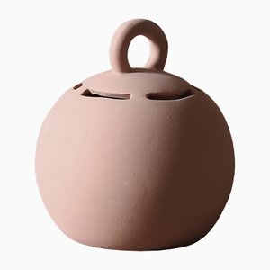 Small Salvadané Piggy-Bank in Clay by Domenico Orefice for Man de Milan