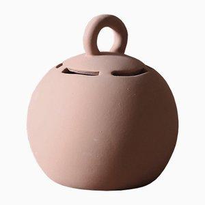 Small Salvadané Piggy-Bank in Clay by Domenico Orefice for Man de Milan