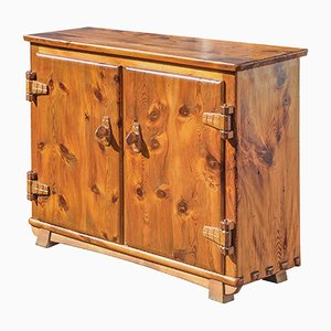 Zapatero de madera maciza, años 30