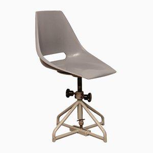 Chaise Pivotante Vintage Tchèque par Miroslav Navratil pour Vertex, 1960s