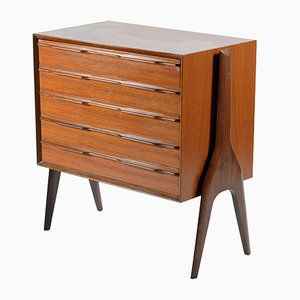 Mid-Century Italian Chest of Drawers from La Sorgente del Mobile, 1950s