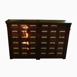 Antique Pharmacist Filing Cabinet