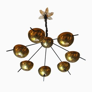 Brass Chandelier by Cellule Creative Studio for Misa Arte