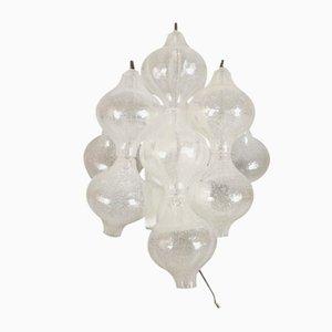 Lámpara de pared Tulipan 9WA de J.T. Kalmar para Kalmar Franken KG, años 60
