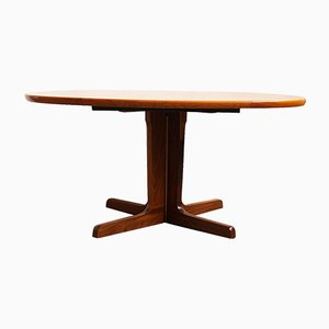 Large Oval Mid-Century Danish Teak Dining Table