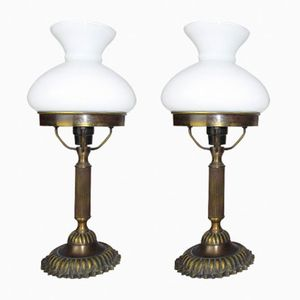 Library Lamps, 1930s, Set of 2
