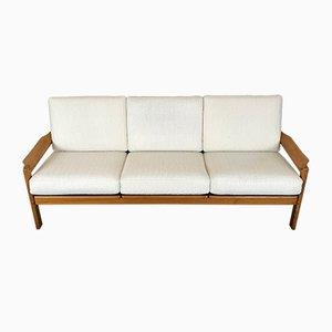 3-Sitzer Sofa mit Gestell aus Teak, 1970er