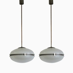 Pendants by Sergio Mazza for Artemide, 1960s, Set of 2