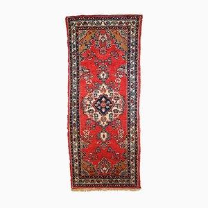 Alfombra Hamadan de Oriente Medio vintage hecha a mano, años 60