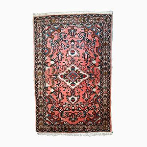 Alfombra Lilihan de Oriente Medio vintage hecha a mano, años 70