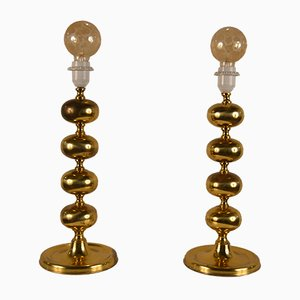 Austrian Table Lamps, 1960s, Set of 2