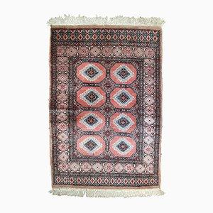 Handgemachter usbekischer Vintage Bukhara Teppich, 1960er