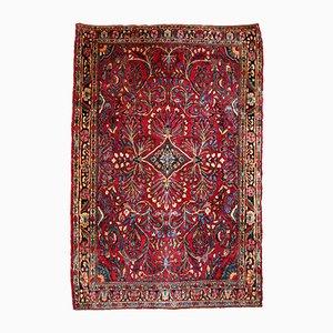 Alfombra Sarouk de Oriente Medio vintage hecha a mano, años 20
