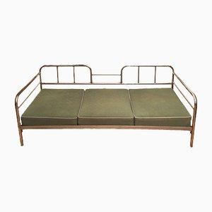 Tagesbett mit Stahlrohrgestell von Robert Slezak für UP Závody, 1930er