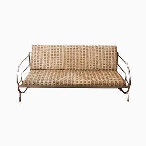 Couch oder Tagesbett mit Stahlrohrgestell von Robert Slezak für UP Závody, 1930er