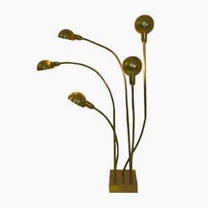 Lámpara de pie Hydra de Pierre Folie para Jacques Charpentier, años 70