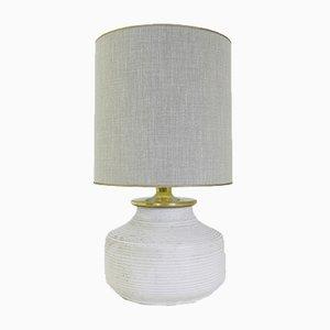 Lámpara de mesa de terracota, años 60