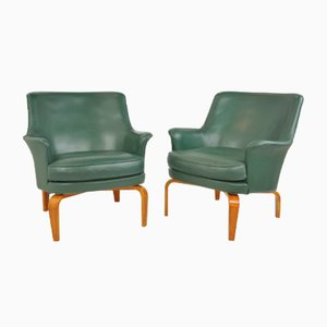 Pilot Easy Chairs by Arne Norell, 1970s, Set of 2