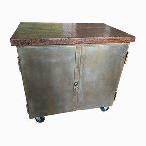 Mueble de taller suizo vintage