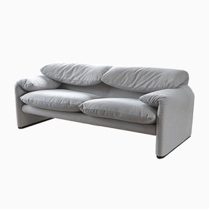 Maralunga Sofa by Vico Magistretti for Cassina, 2000s