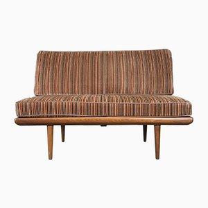 Dormeuse o divano Minerva di Peter Hvidt e Orla Mølgaard-Nielsen per France & Søn, anni '60