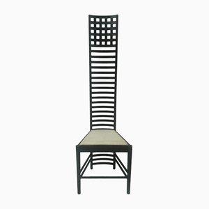 Italienischer Vintage Stuhl mit hoher Rückenlehne