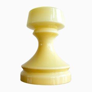 Lámpara de mesa en forma de torre de ajedrez de Ivan Jakes para Valasske Mezirici, años 70