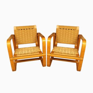 Armchairs by Giuseppe Pagano Pogatschnig & Gino Maggioni, 1939, Set of 2
