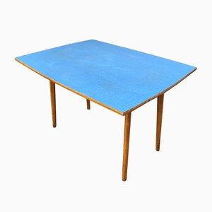 Blauer Tisch aus Resopal, 1952