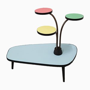 French Garden Etagere Table, 1940s