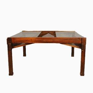 Tavolino da caffè nr. 1221 Dione con portariviste di Ico Parisi per Stildomus, 1959