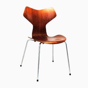 Vintage Grand Prix Stuhl von Arne Jacobsen für Fritz Hansen
