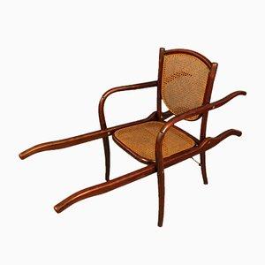 Antiker tragbarer Stuhl von Thonet