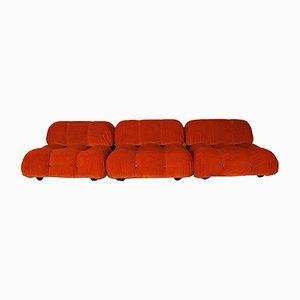 Modular Camaleonda Sofa by Mario Bellini for B&B Italia, 1973, Set of 3