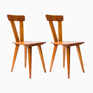 Vintage Zydel Chairs by Władysław Wincze & Olgierd Szlekys for ŁAD Cooperative, Set of 2