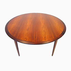 Mid-Century Rosewood Dining Table by Grete Jalk for P. Jeppesen, 1960s