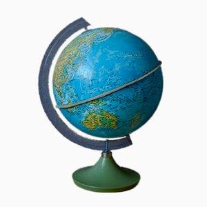 Globe Terrestre Lumineux Vintage
